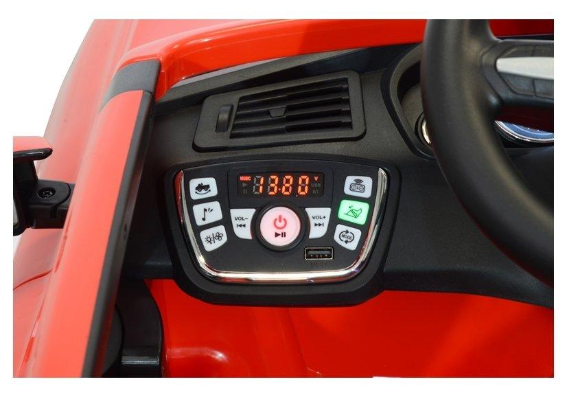 Masinuta electrica cu telecomanda BMW X5 M Red - 5