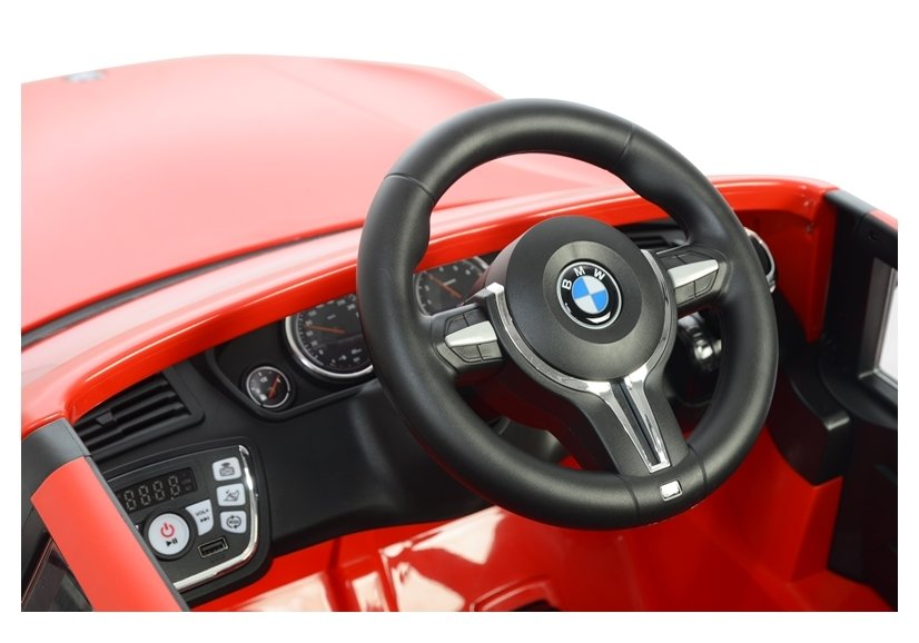 Masinuta electrica cu telecomanda BMW X5 M Red - 7