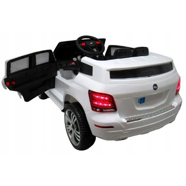 Masinuta electrica cu telecomanda R-Sport SUV X1 alb