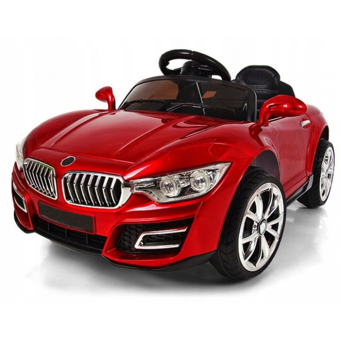 Masinuta electrica cu telecomanda si functie de balansare R-Sport Cabrio B16 rosu