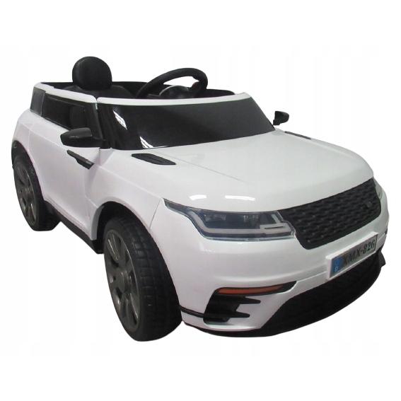 Masinuta electrica cu telecomanda si roti EVA R-Sport Cabrio F4 alb - 2
