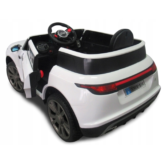 Masinuta electrica cu telecomanda si roti EVA R-Sport Cabrio F4 alb