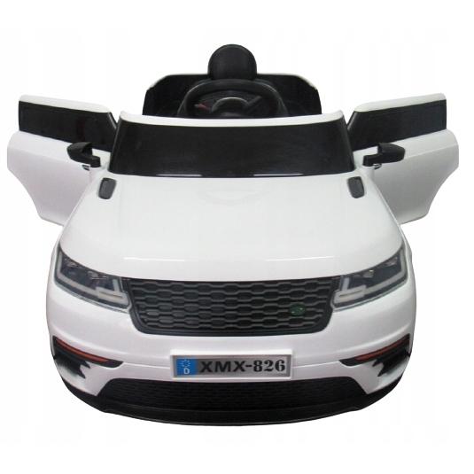 Masinuta electrica cu telecomanda si roti EVA R-Sport Cabrio F4 alb - 1
