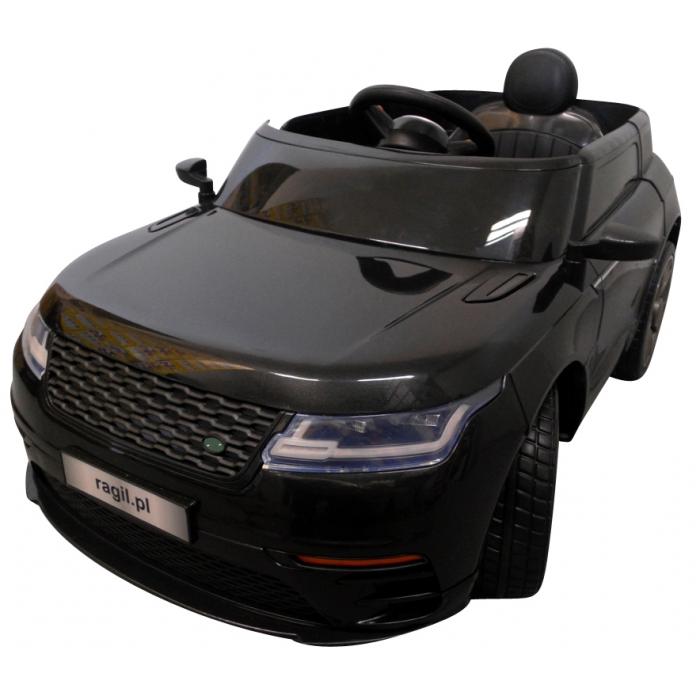 Masinuta electrica cu telecomanda si roti EVA R-Sport Cabrio F4 negru - 1