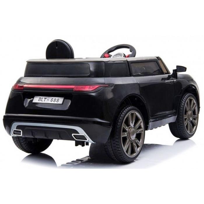 Masinuta electrica cu telecomanda si roti EVA R-Sport Cabrio F4 negru