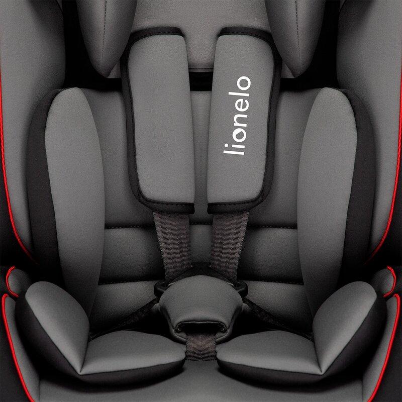 Scaun Auto Copii 9-36 Kg Levi Simple Black Lionelo