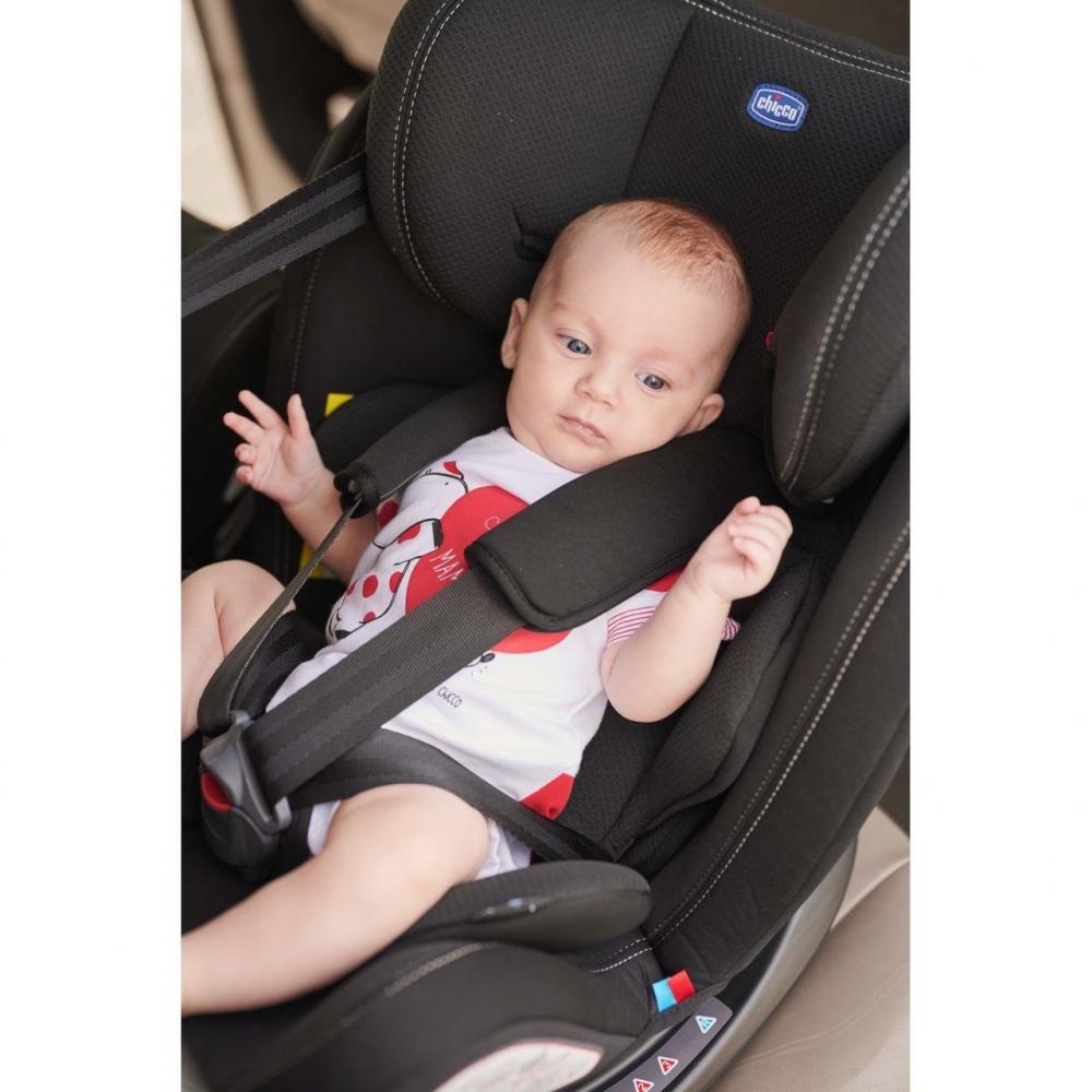 Scaun Auto Copii Chicco Rotativ Cu Isofix Unico Plus Grupa 0+123 Ombra 0 Luni+