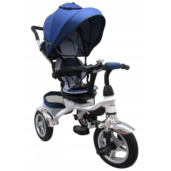 Tricicleta cu pedale 3 in 1 R-Sport T3 jeans