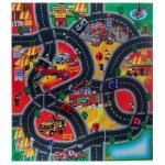 Covor copii & tineret Tapis de Jeu Pompieri 70x80