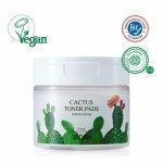 Dischete umede cu toner facial, extract de cactus Yadah 60 buc