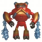 Figurina Ben 10 12cm Metallic Overflow