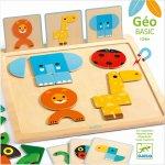 Geo Basic Djeco joc pentru bebe cu forme geometrice