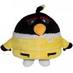 Jucarie din plus Bomb winter outfit Angry Birds 20 cm