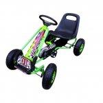 Kart cu pedale Gokart 3-7 ani roti gonflabile G1 R-Sport verde