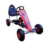 Kart cu pedale Gokart 4-10 ani roti gonflabile G5 R-Sport rosu