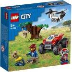 Lego City atv de salvare a animalelor salbatice