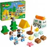 Lego Duplo aventura cu rulota de vacanta a familiei
