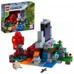 Lego Minecraft portalul ruinat