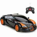 Masina cu telecomanda Bugatti Grand Sport Vitesse negru scara 1:18