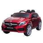 Masinuta electrica cu roti din cauciuc Mercedes GLA45 Editie limitata Painting Red