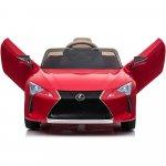 Masinuta electrica pentru copii Lexus LC500 rosu