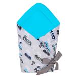 Port bebe textil transformabil in salteluta de joaca Cars