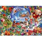 Puzzle Bluebird Christmas Globe 1000 piese