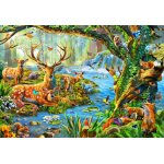 Puzzle Bluebird Forest Life 260 piese