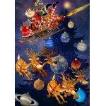 Puzzle Bluebird Francois Ruyer Santa Claus is arriving 1500 piese