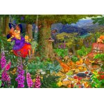 Puzzle Bluebird Francois Ruyer The Witch Picnic 1500 piese
