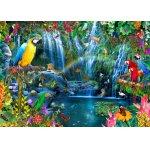 Puzzle Bluebird Parrot Tropics 3000 piese