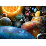 Puzzle Bluebird Planets And Their Moons 500 piese