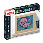 Pixel Art Kawaii 4 planse Design Axolotl Quercetti