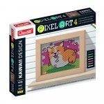 Pixel Art Kawaii 4 planse Design Corgi Quercetti