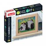 Pixel Art Kawaii 4 planse Design Panda Quercetti