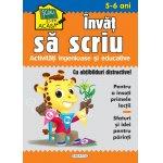Scoala acasa Invat sa scriu 5-6 ani