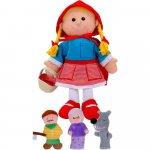 Set marionete scufita rosie Fiesta Crafts