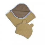 Set pernuta cu urechiuse si paturica doua fete blanket 90x140 cm pillow 35x30 cm