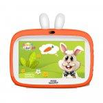 Tableta copii Smart TabbyBoo Rica Iepurica (2021) 7 inch Quad-Core orange