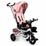 Tricicleta cu sezut rotativ Ecotoys JM-068-17 roz pudra