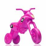 Tricicleta fara pedale Enduro Maxi roz-roz
