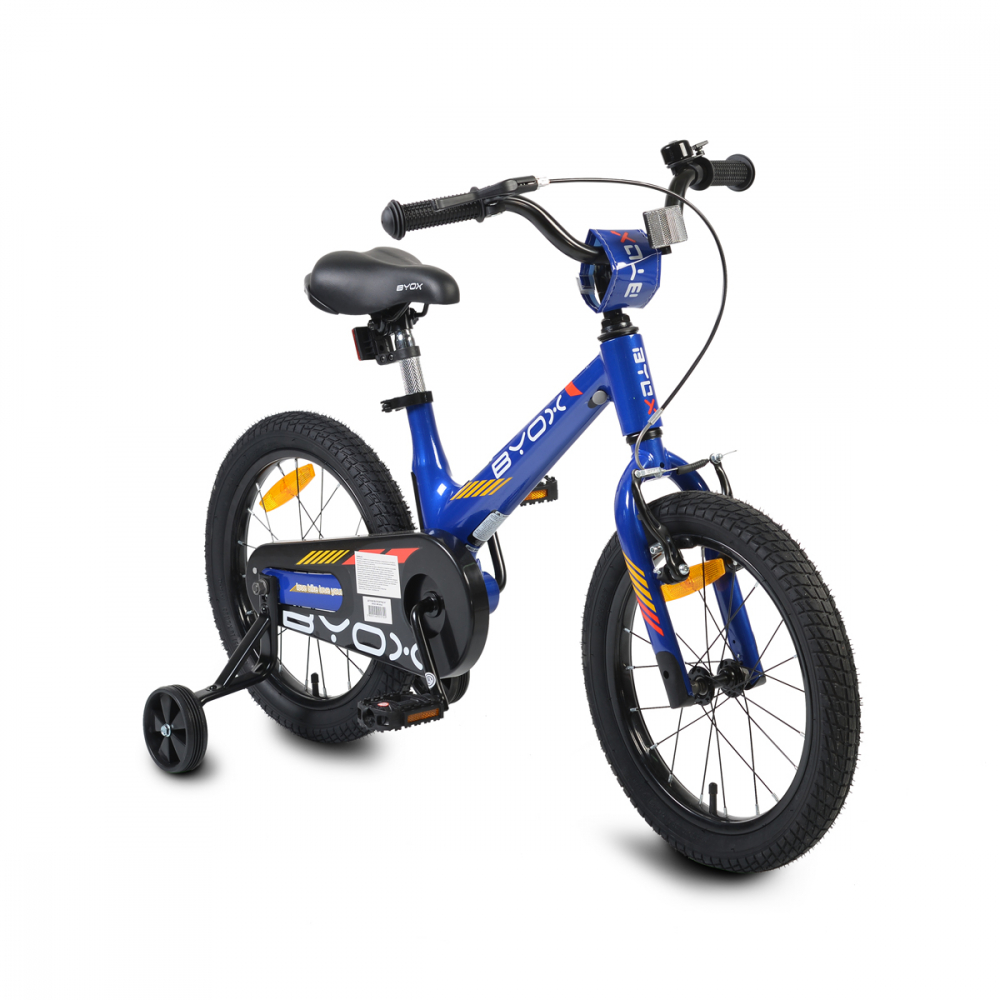 Bicicleta cu roti ajutatoare Byox 16MG Blue