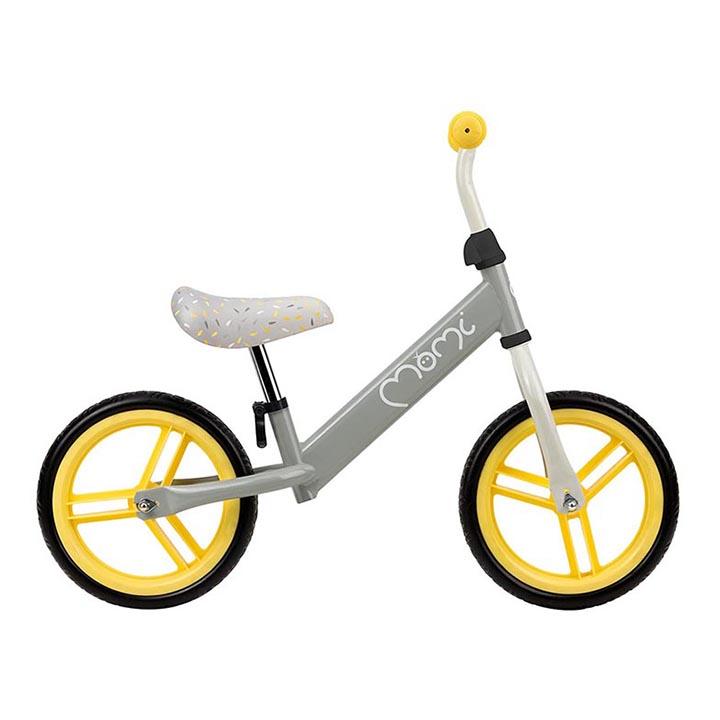 Bicicleta fara pedale Nash Momi Yellow