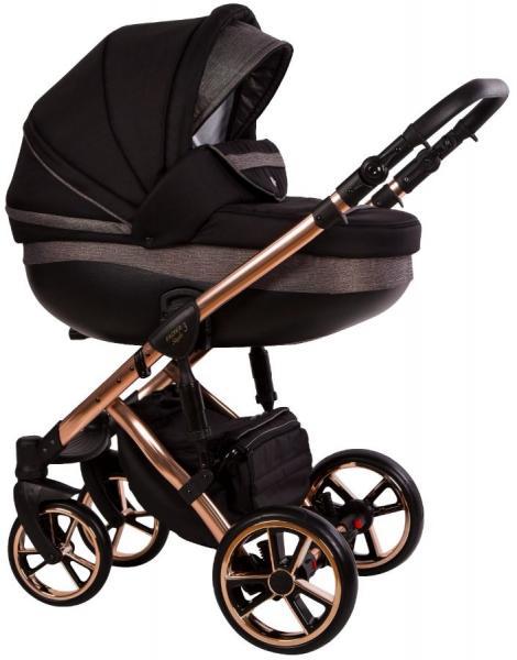 Carucior 3 in 1 Baby Merc Faster 3 Limited Edition L189 Cadru Grey