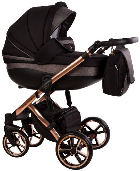 Carucior 3 in 1 Baby Merc Faster 3 Limited Edition L189 Cadru Grey - 1