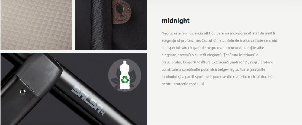 Carucior 3 in 1 Salsa 4 Midnight Abc Design