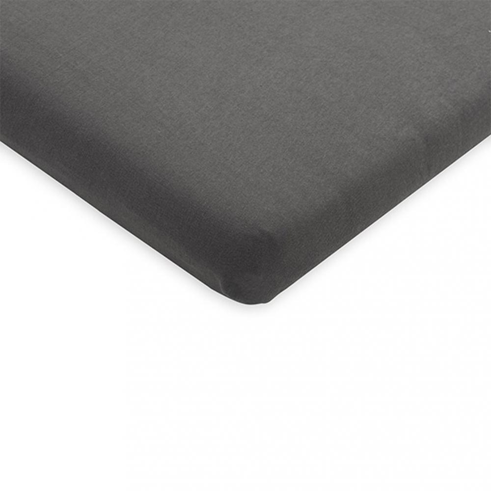 Cearsaf cu elastic Jollein jrs 40x8090 cm gri