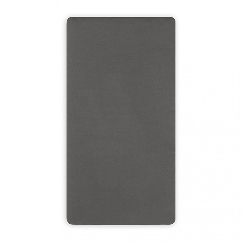 Cearsaf cu elastic Jollein jrs 40x8090 cm gri - 1