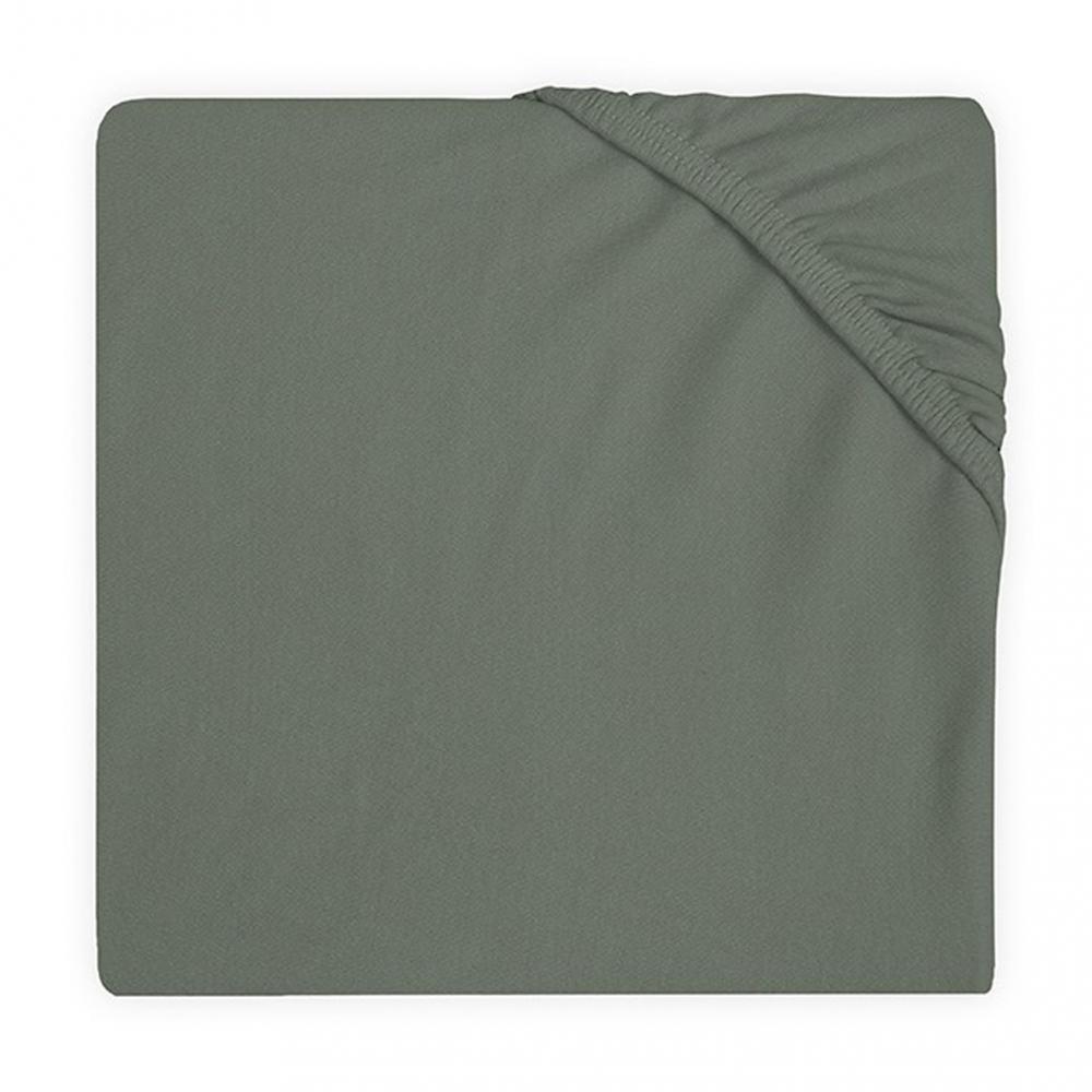 Cearsaf cu elastic Jollein jrs 40x80 cm verde
