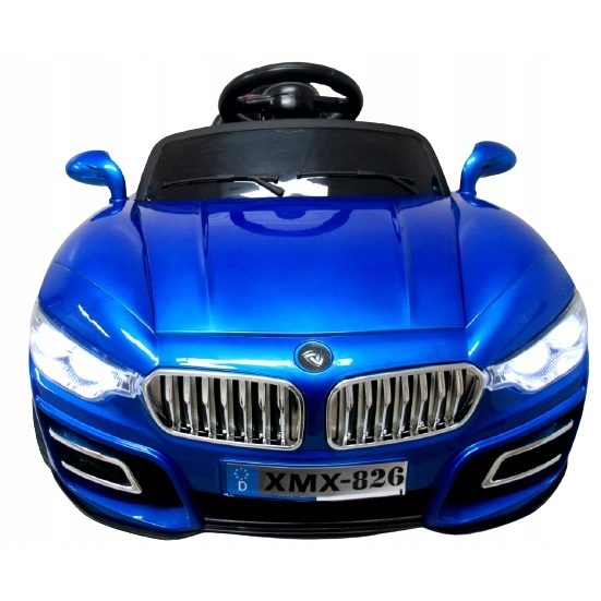 Masinuta electrica cu telecomanda si functie de balansare R-sport Cabrio B16 albastru